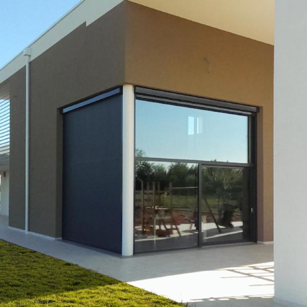 vendita rivestimenti porte e finestre per esterno tende Palagina Giusida Roma